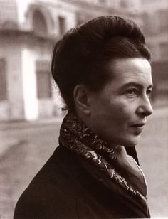 Simone de Beauvoir, identifying herself as an author rather than as a philosopher and calling herself the midwife of Sartre's existential ethics rather than a thinker in her own right, Beauvoir's place in philosophy is now gaining traction. Her enduring contributions to the fields of ethics, politics, existentialism, and feminist theory and her significance as an activist and public intellectual is now a matter of record. The Second Sex is of feminist significance in its analysis of patriarchy.