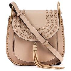 CHLOE Hudson small leather shoulder bag found on Nudevotion