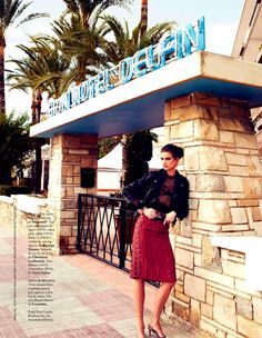 Model Rianne Ten Haken, photographers Riccardo Tinelli, Juan Aldabaldetrecu and Xavi Gordo for Elle, Spain, March 2013