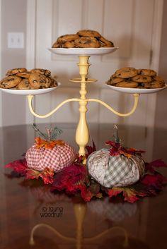 creative confetti: Candelabra Cake Stand (tutorial)