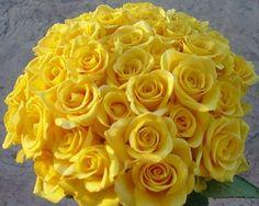 Солнечные желтые букеты