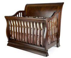 Munire Sleigh Crib  Rick's favorite so far