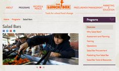 Free tools for schools to transform their school lunch program.