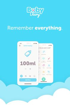 With BabyDiary you'll stay on top of things in one of the most turbulent and beautiful times of your life.