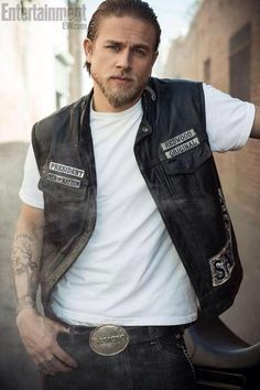 charlie hunnam.  i just died.  and went to heaven.