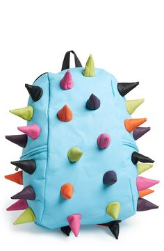 Fun! Spiky, colorful backpack.