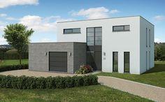 Moderne woning van sleutel-op-de-deur bouwbedrijf Blavier