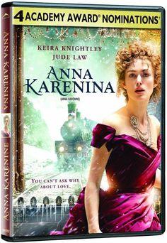 Anna Karenina (DVD) 2012 Keira Knightley, Jude Law NEW