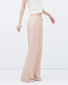 Image 2 of LOOSE-FIT TROUSERS from Zara
