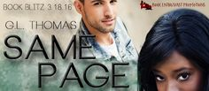 ♥Enter the #giveaway for a chance to win a $15 GC♥ StarAngels' Reviews: Book Blitz ♥ Same Page by GL Thomas ♥ #giveaway $1...