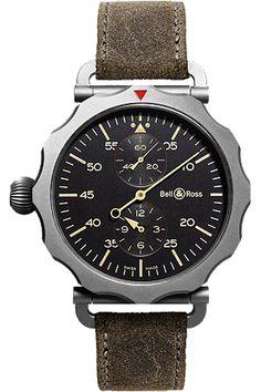 10feeda5435c Bell   Ross Vintage WW2 Regulateur Heritage watch Schaumburg Watch