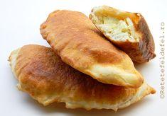 SCOVERGI CU BRANZA | Romanian Food, Romanian Recipes, Chile, Hot Dog Buns, Food Inspiration, Deserts, Cooking Recipes, Bread, Meals