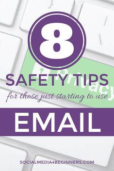 8 Safety Tips for those just starting to use Email Email Email, Cool Bluetooth Speakers, Security Tips, Just Start, Gadgets And Gizmos, Google Classroom, Safety Tips, Classroom Activities, Stay Safe