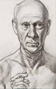 """Preliminary Study for Self Portrait."" Pencil on paper, 10 x 8 in. Illustration, Male Sketch, Artwork, Portrait, Graphic Artwork"