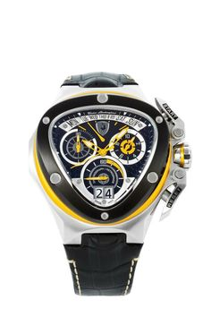 Lamborghini watch...i prefer red instead of yellow