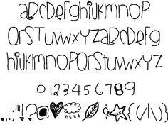BlackberryBlues font by Des - FontSpace. I'm kinda lovin this font!