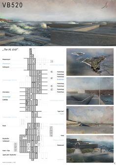 Concrete Design Competition 2014/2015 Preisträger - VB520 - The HL Grid  Valentina Balitskaya     Fachhochschule Düsseldorf