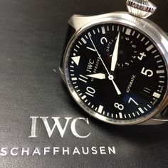 Another great IWC Big Pilots watch. http://www.globalwatchshop.co.uk/iwc-big-pilots-watch-iw500901.html?utm_content=bufferafbc0&utm_medium=social&utm_source=pinterest.com&utm_campaign=buffer In stock - DM for details ✈