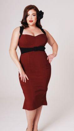 pin up girl dresses | Pin Up Girl Jessica Wiggle Dress