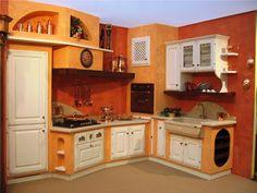 Una panoramica reale delle nostre cucine, foto di cucine realizzate presso nostri clienti