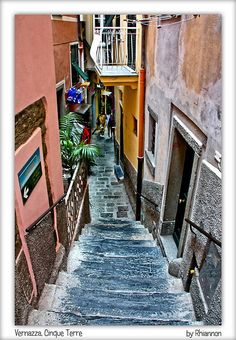 Vernazza, Cinque Terre - Italy.   One of my favorite places in Italy, would love to go back.