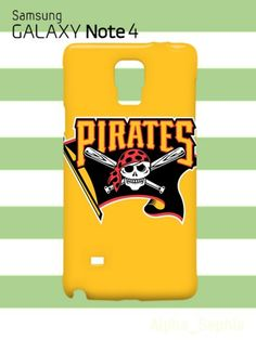 Fancy PITTSBURGH PIRATES Skull Flag Samsung Galaxy Note 4 Case Cover
