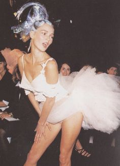 Kate Moss in John Galliano.