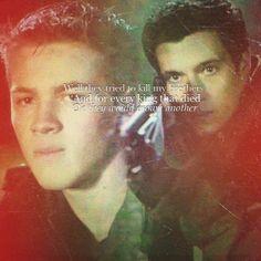 Ben & Hal ~ Falling Skies