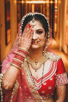 """Photo from Dream Watching Production """"Wedding photography"""" album Indian Wedding Bride, Indian Wedding Jewelry, Indian Wedding Outfits, Indian Bridal, Nath Bridal, Bridal Nose Ring, Wedding Dresses For Girls, Bridal Wedding Dresses, Wedding Pics"""