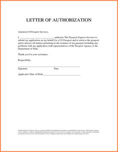 Increment Letter Template Authorize Letter Format Gallery Letter Sles Format  News To Gow .