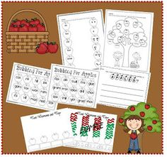 First Grade O.W.L.s: Apple Activity Freebies