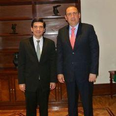 Se reúne Rubén Moreira con Fernando Aportela