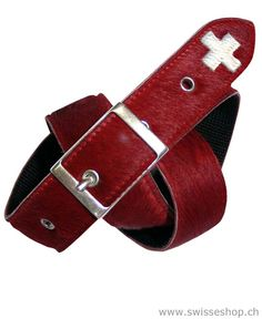 They say, swiss fans have swiss cross. So why not this beautiful belt? This belt has everything of swiss.
