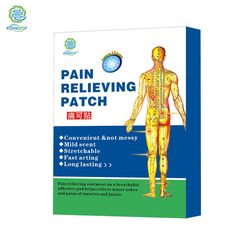 KONGDY Hot Selling 6 Pieces in One Box Porous Body Pain Care Patch Hot Capsicum Plaster Pain Relieving Patch Pain Killer