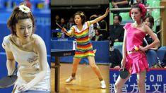 ping pong outfits of Naomi Yotsumoto