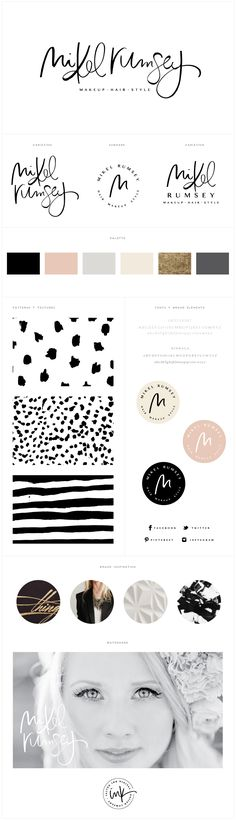 Brand Launch: Mikel Rumsey - Salted Ink Design Co.
