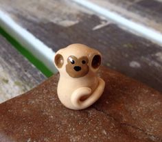 A personal favorite from my Etsy shop https://www.etsy.com/listing/290597063/miniature-polymer-clay-animal-monkey