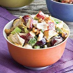 Waldorf Chicken Salad Recipe | MyRecipes.com