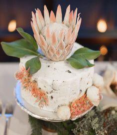 protea cake topper