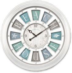 FirsTime® Beach House Wall Clock