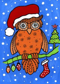 dots 'n' doodles: Recycled Christmas Owl and Strathmore free workshops