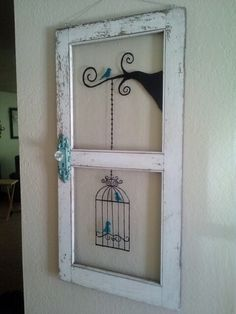 nice 48 Newest Diy Vintage Window Ideas For Home Interior Makeover The Importance Of Windows Vintage Windows, Old Windows, Antique Windows, Deco Dyi, Old Window Frames, Old Window Ideas, Painted Window Panes, Old Window Art, Window Pane Decor