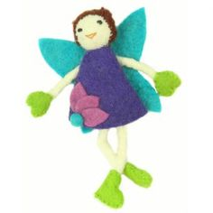 Tooth Fairy with Brown Hair