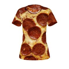 #Pizza by #ChefJenkins, #snacktime, #yummyinmytummy, #cheese, #pepperoni, #pizzaparty, #food, #alloverprint, #tshirt, #CitrusReport