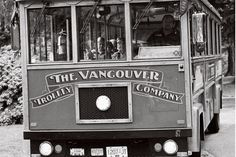 Vancouver. A tour bus taking visitors around Stanley Park, a thousand-acre forest that is home to giant trees, Haida totem poles, lovely beaches, an aquarium, a beaver lake, a picturesque teahouse and restaurant, and even a cricket pitch. It is a sheer joy to walk or cycle around.