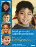 New DAP book! Edited and compiled just for kindergarten teachers, this resource explains developmentally appropriate practice (DAP) so teachers can apply DAP in their work with kindergartners. Learn about teaching in the kindergarten year, connecting DAP to excellent teaching, and more!