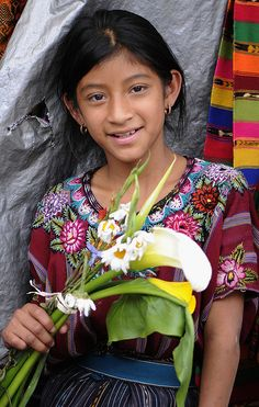 Girl from Guatemala....by Marie-Marthe Gagnon