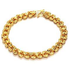 18K Gold Plated Chain Bracelet
