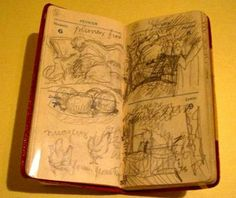 One of Pierre Bonnard's daily journals