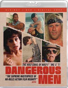 DANGEROUS MEN DRAFTHOUSE FILMS SPINE #33 BLU-RAY